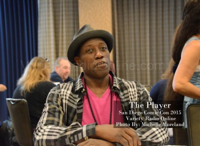 'The Player' Interview San Diego Comic Con 2015