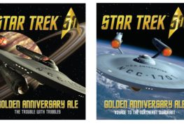 Two Recipes...Two Releases...Two Release Dates  Golden Anniversary Ale: The Trouble With Tribbles Golden Anniversary Ale: Voyage To The Northeast Quadrant