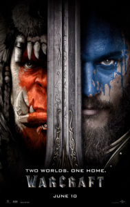 WARCRAFT is in theaters June 10, 2016.